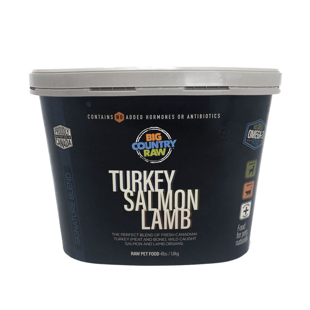 View larger image of Turkey Salmon Lamb - 4 lb Tub
