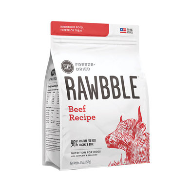 Adult Freeze Dried RAWBBLE - Beef