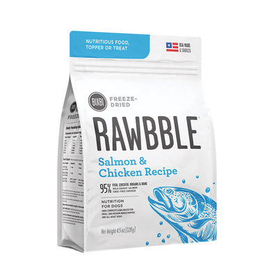 Adult Freeze Dried RAWBBLE - Salmon & Chicken
