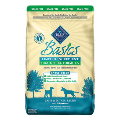 Adult Basics - Large Breed, Grain-Free, Lamb & Potato - 10 kg