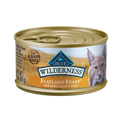 Can, Feline Adult Wilderness - Flatland Feast - 85 g