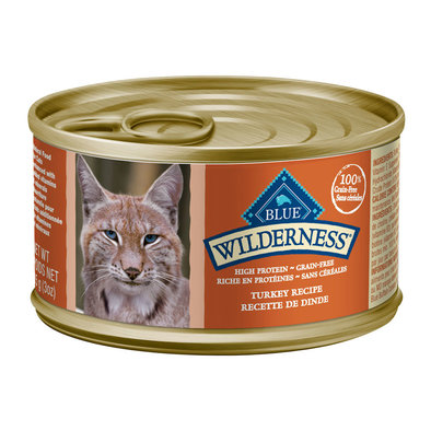 Can, Feline Adult - Wilderness - Turkey - 85 g