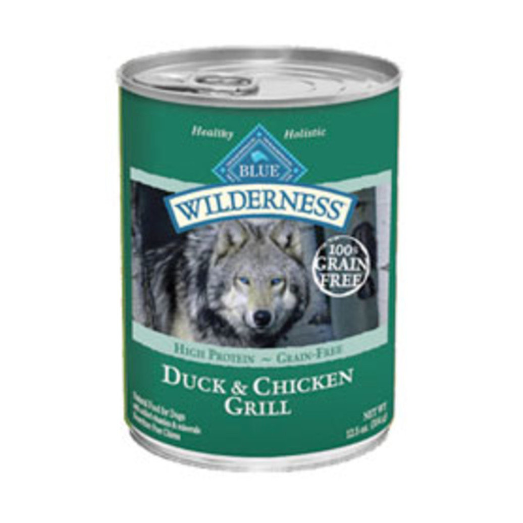 View larger image of Canned Dog Food, Wilderness, Duck & Chicken Grill - 354 g
