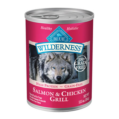 Canned Dog Food, Wilderness, Salmon & Chicken Grill - 354 g