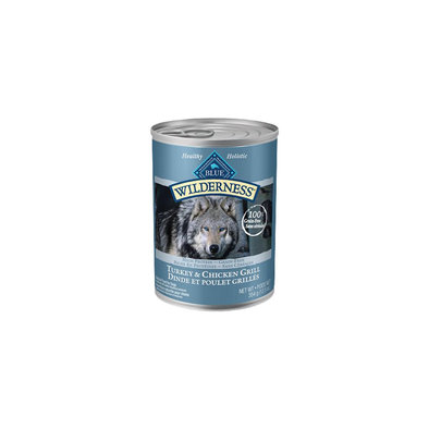 Canned Dog Food, Wilderness, Turkey & Chicken Grill - 354 g