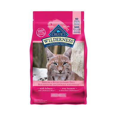 Blue Buffalo, Feline Adult - Wilderness - Salmon