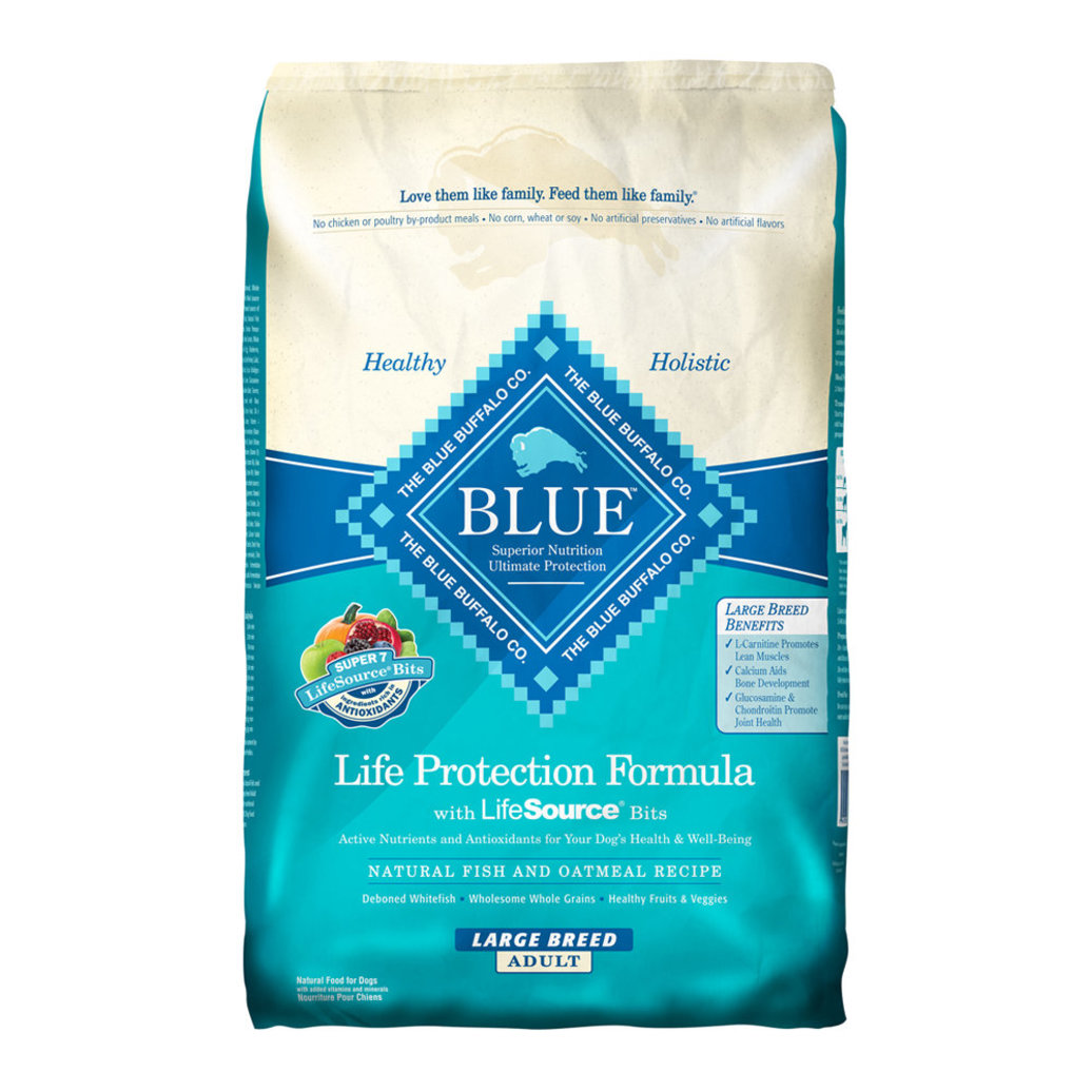 View larger image of Large Breed Fish & Oatmeal Adult Dry Dog Food - 13.6 kg