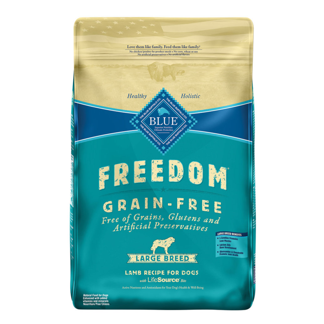 View larger image of Large Breed, Freedom Grain Free Lamb Recipe - 10.9 kg