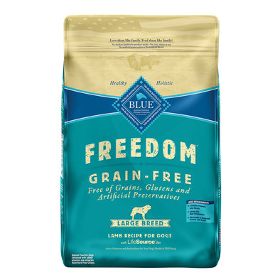 Large Breed, Freedom Grain Free Lamb Recipe - 10.9 kg