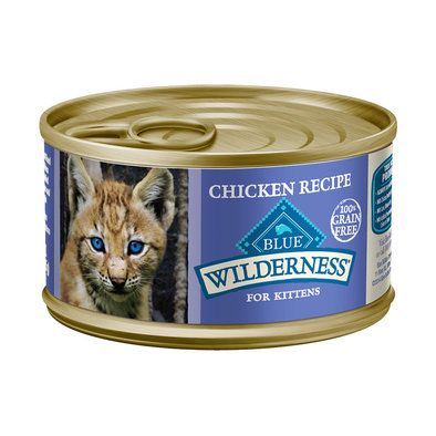 Wilderness, Grain Free Chicken Canned Kitten Food - 85 g