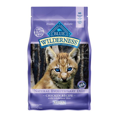 Wilderness Grain Free Kitten Food - 2.72 kg