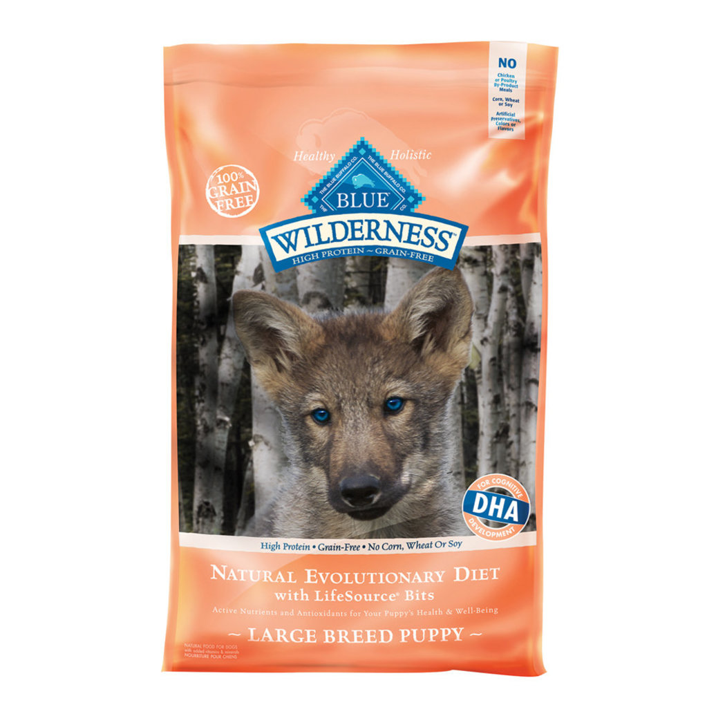 View larger image of Wilderness Puppy Breed, Chicken & Brown Rice - 30 lb