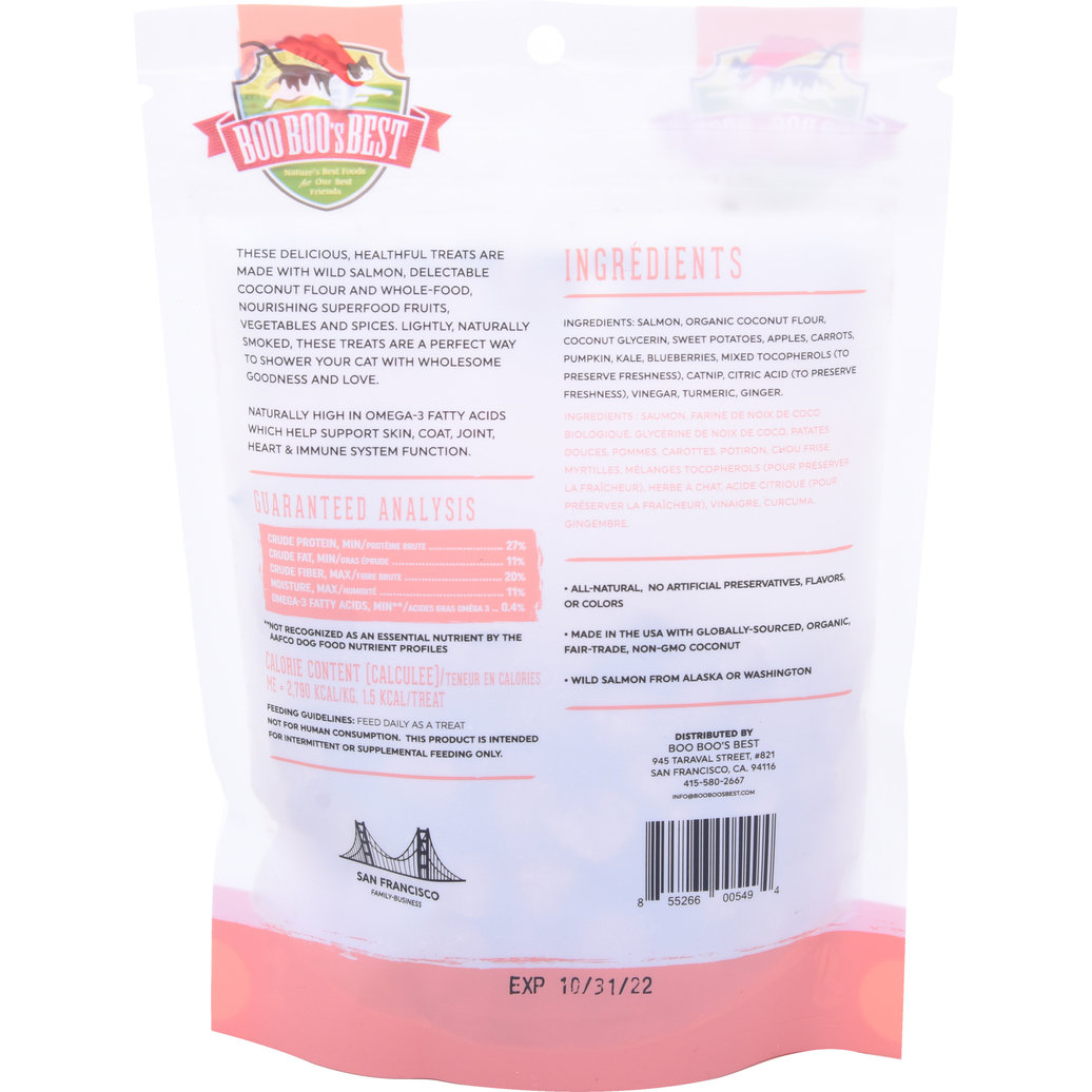 View larger image of Feline Dehydrated Treats - Salmon - 56 g