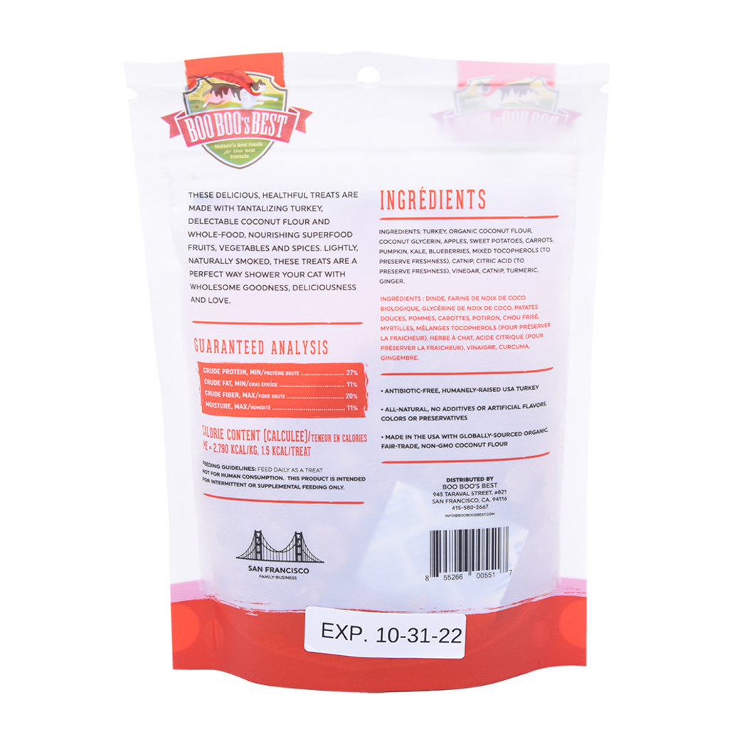 View larger image of Feline Dehydrated Treats - Turkey - 56 g