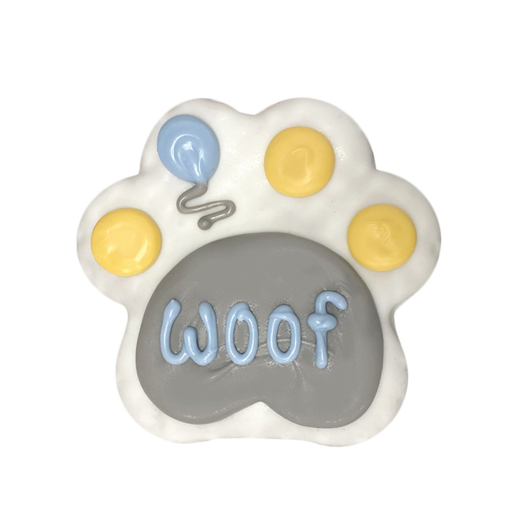 """View larger image of Birthday Woof Paw - 4"""""""