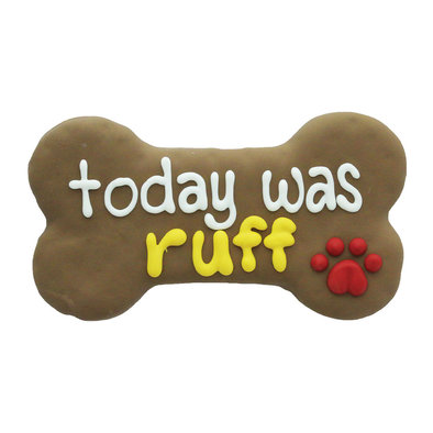Fido Says, Today Was Ruff