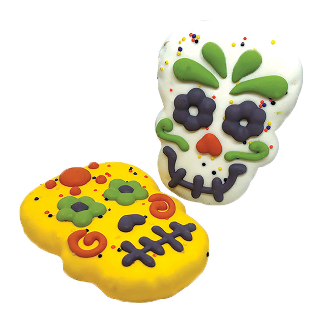 View larger image of Here for the Boo's, Candy Skulls