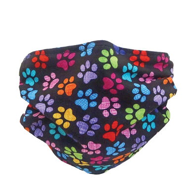 Grooming Mask - Colourful Paws
