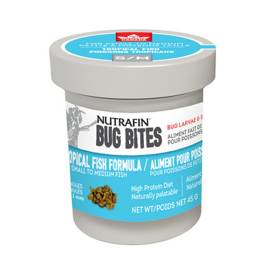 BugBites, Tropical Fish - S-M - 45 g