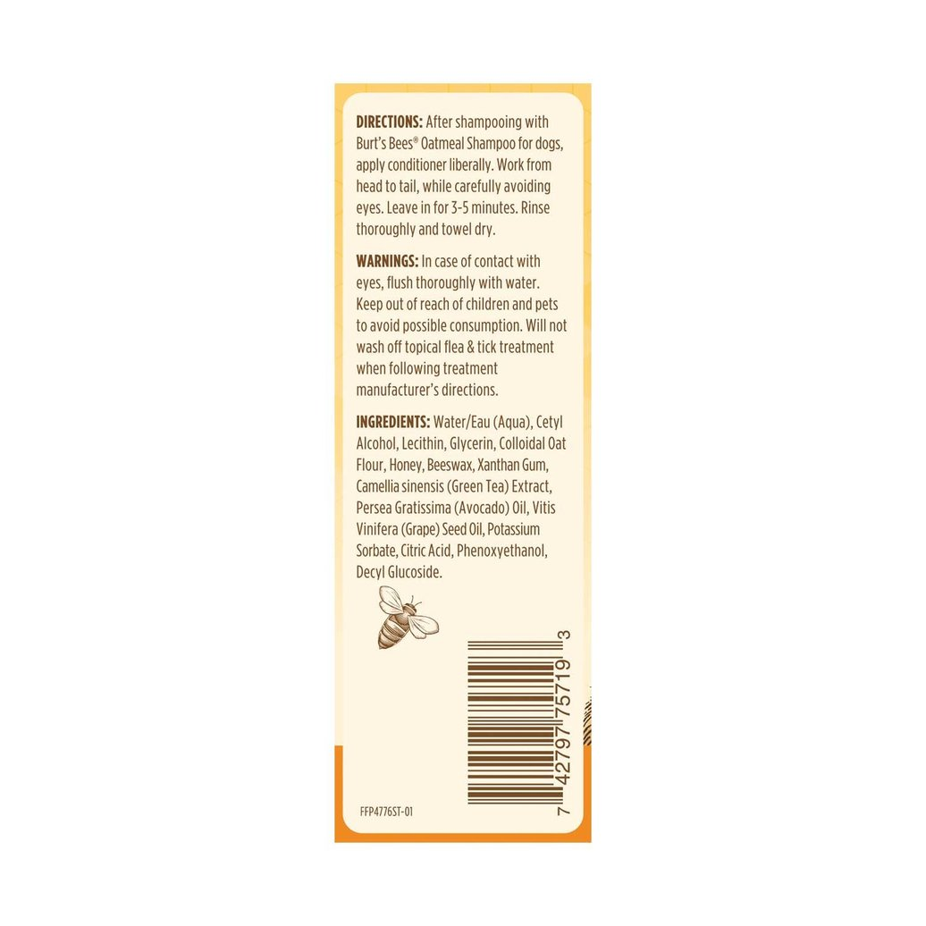 View larger image of Oatmeal Dog Conditioner - 300 ml