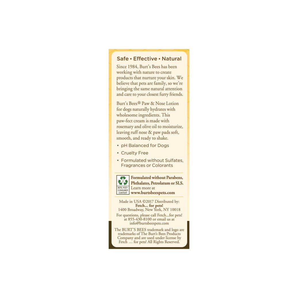 View larger image of Paw and Nose Dog Lotion - 120 ml