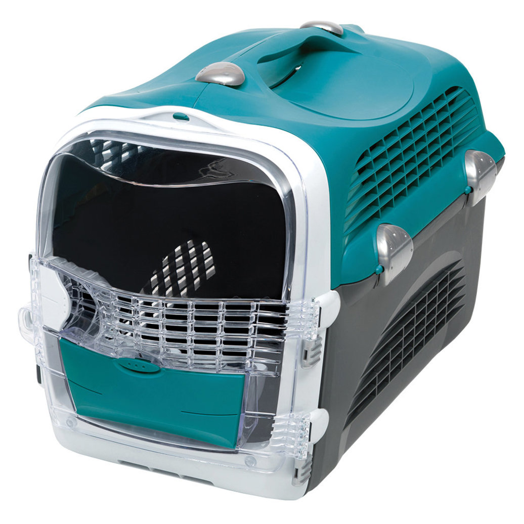"""View larger image of Catit 2.0 , Cabrio Carrier - Turquoise - 20x13x13.75"""""""
