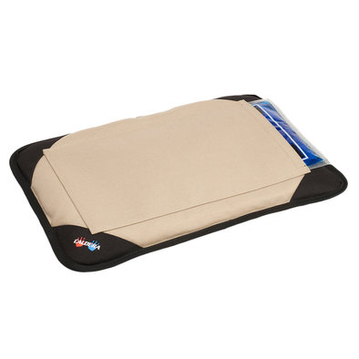 Pet Therapy - Pet Bed with Gel - Tan
