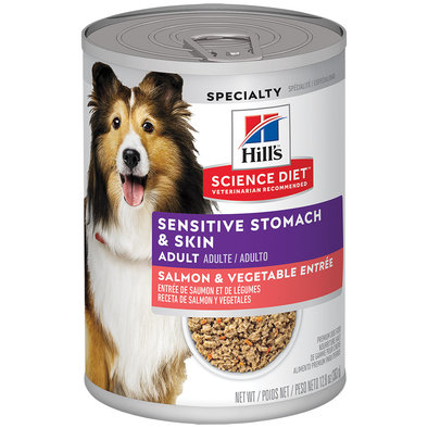 Adult Sensitive Skin&Stomach Salmon&Veg - 363 g