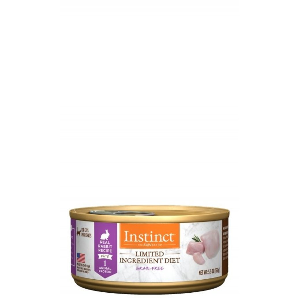 View larger image of Can, Feline Adult - LID Rabbit - 155 g
