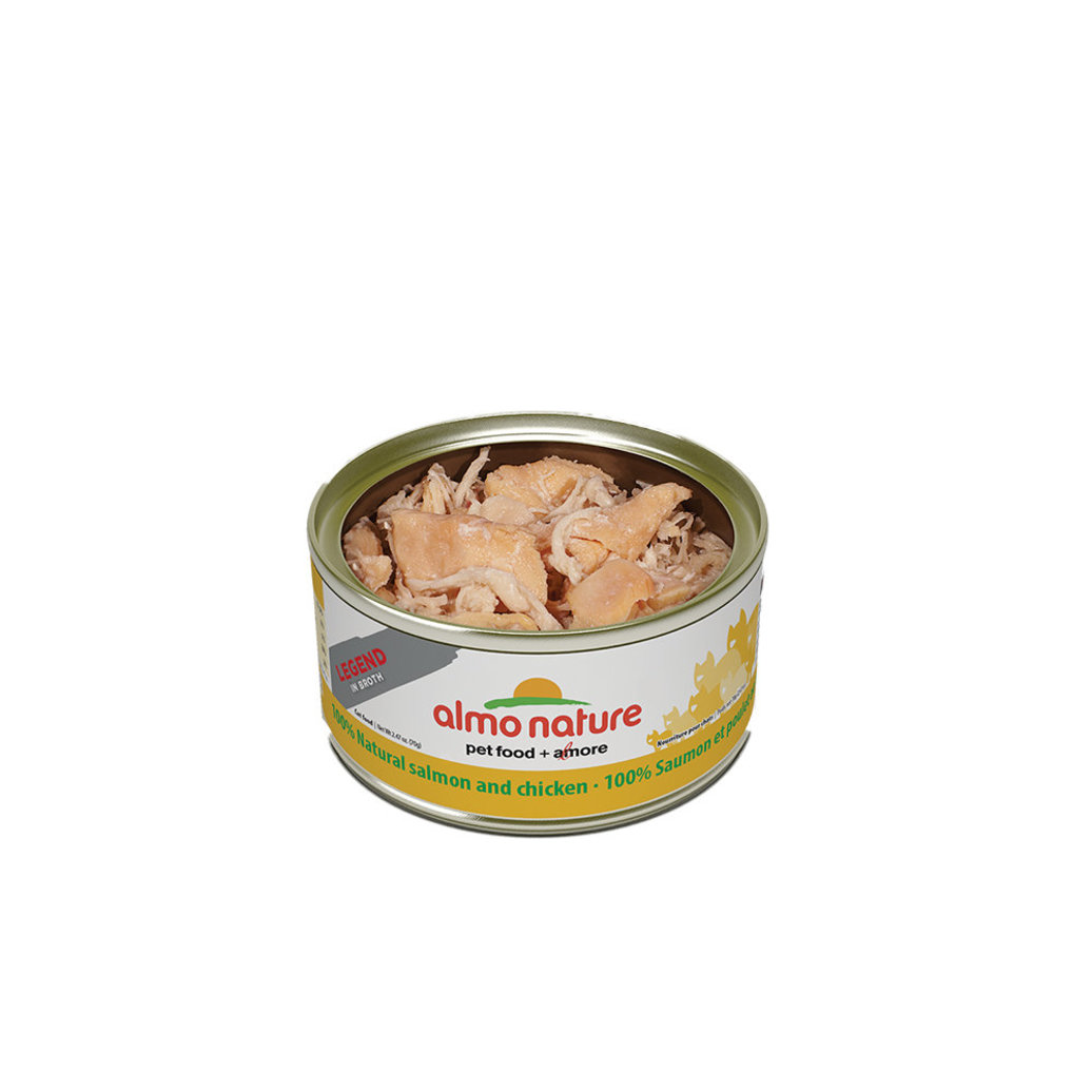 View larger image of Feline - Can - Salmon &Chicken In Broth - 2.5oz