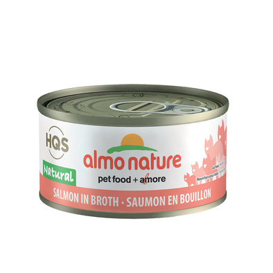 Feline - Can - Salmon in Broth - 2.5 oz