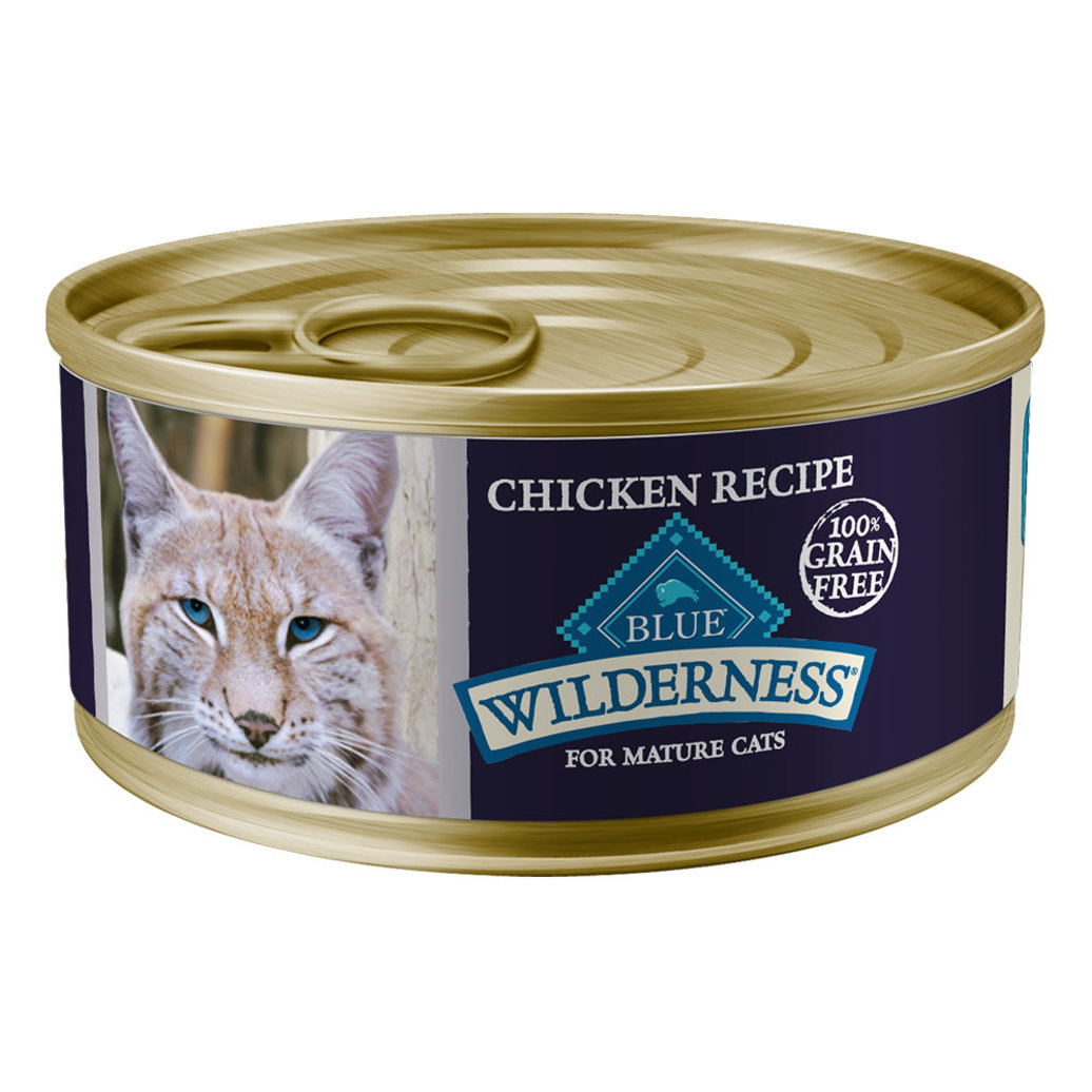 View larger image of Can, Feline Senior - Wilderness - Chicken - 156 g