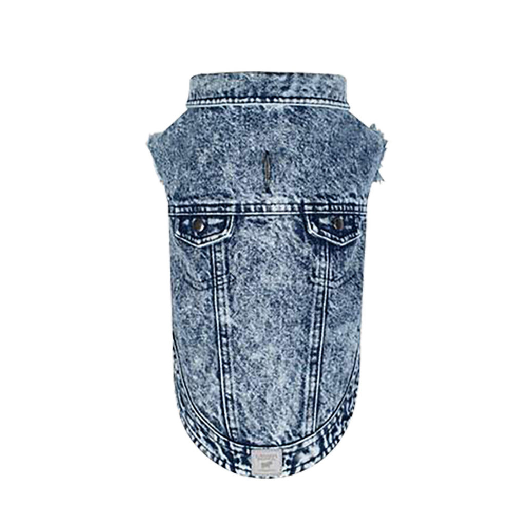 View larger image of Canada Pooch, Downtown Denim Vest - Blue