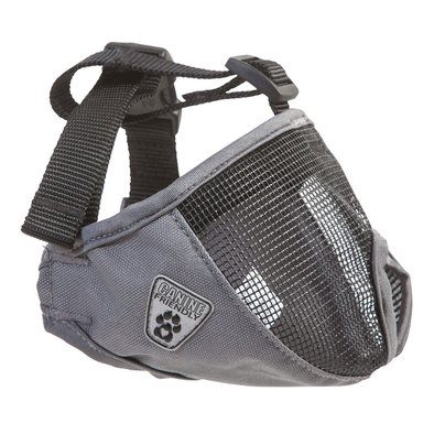 Canine Friendly, Short Snout Muzzle - Charcoal
