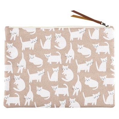 Canvas Pouch Miss Kitty