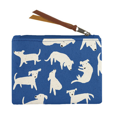 Canvas Pouch Nosey Dog
