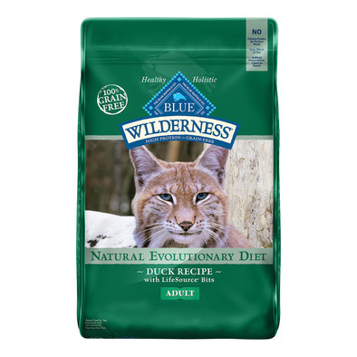 Cat Food Dry, Wilderness, Duck