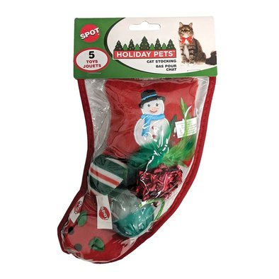 Cat Toy, Hldy Cat Toys Included In Stocking-Sm
