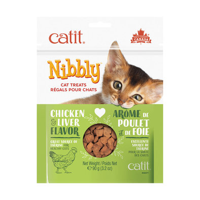 Feline Nibbly Treats - Chicken Liver - 90 g