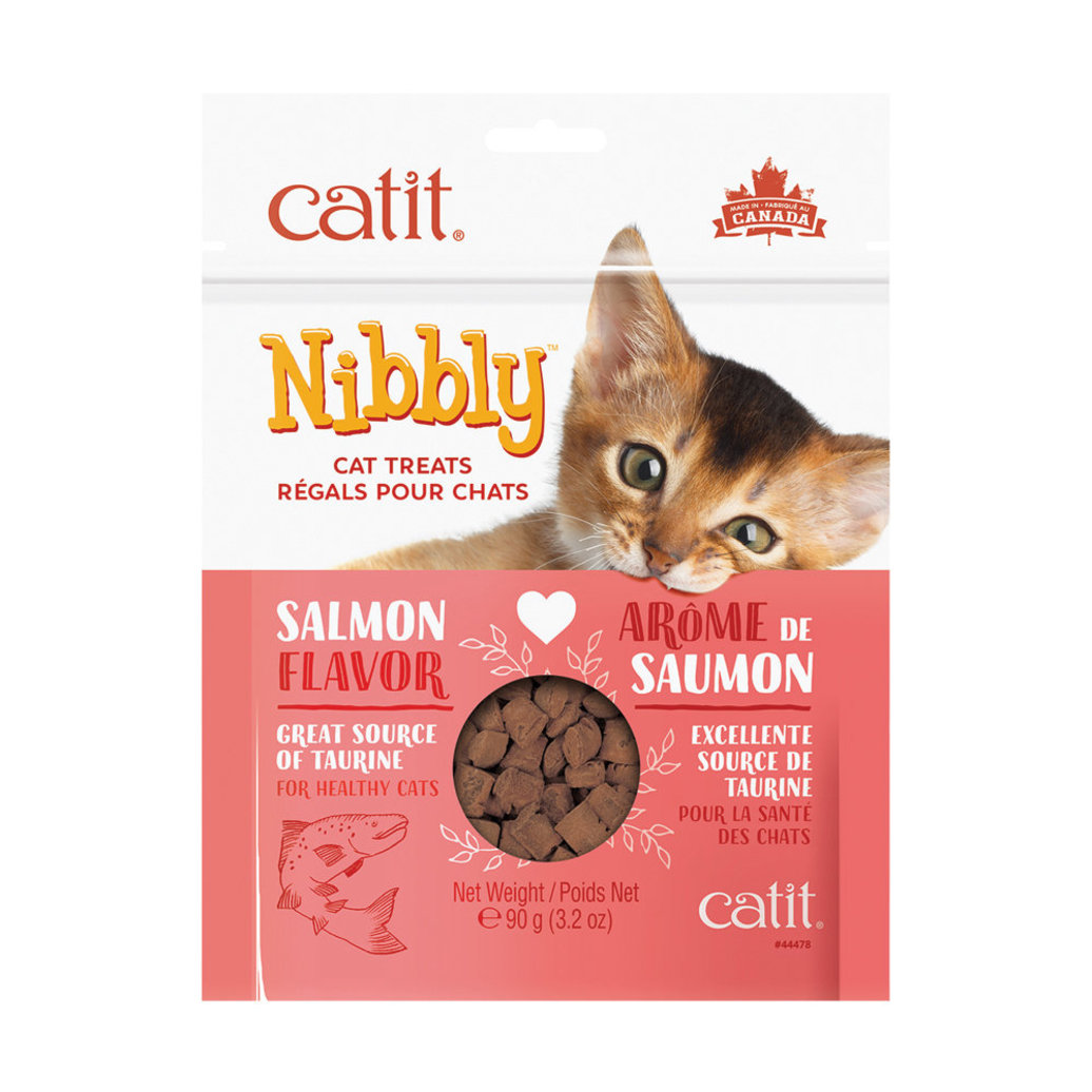 View larger image of Feline Nibbly Treats - Salmon - 90 g