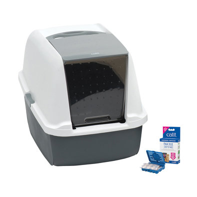 Magic Blue Litter Box