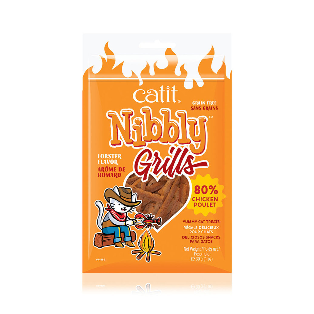 View larger image of Nibbly Grills - Chicken & Lobster  - 30 g