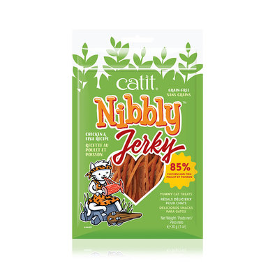 Nibbly Jerky - Chicken & Fish - 30 g