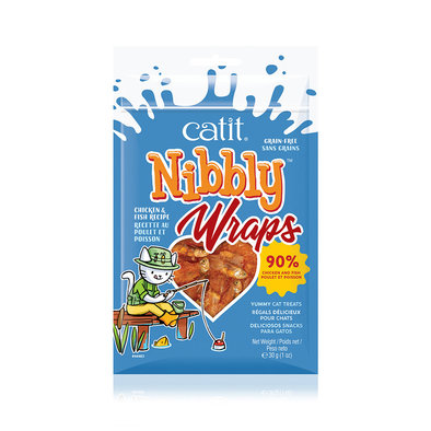 Nibbly Wraps - Chicken & Fish - 30 g