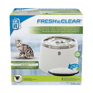 Senses 2.0 Fresh & Clear SS Top Fountain - 2L
