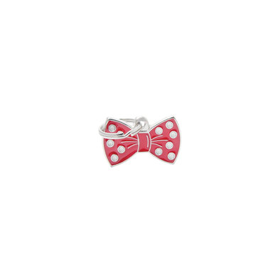 Charm - Bow Tie - Red