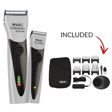 Chromado Clipper & Chromini Trimmer - Silver