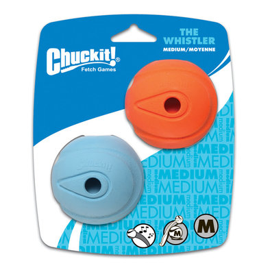 Whistle Ball - 2 Pk