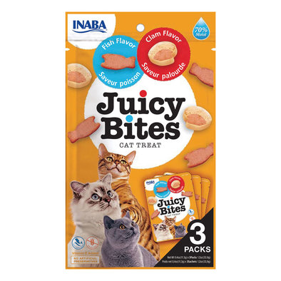 Juicy Bites - Fish & Clam - 33.6 g