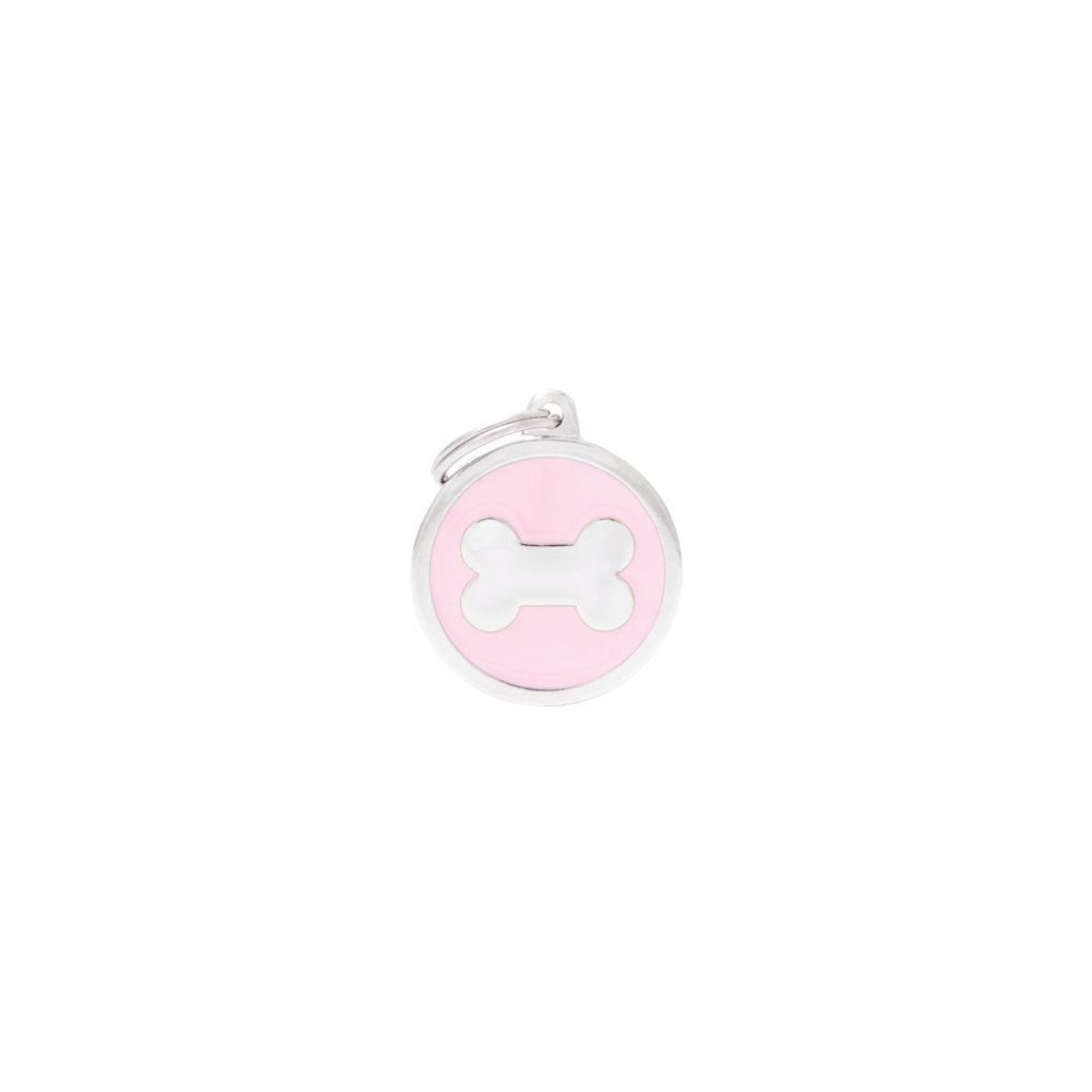 View larger image of Circle Bone - Pink - Big